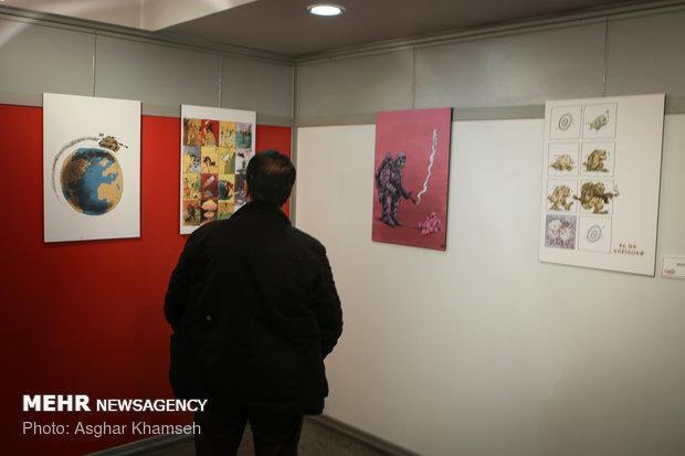 هنرمندان 13 استان کشور در ورک شاپ کاریکاتور اردبیل حضور می یابند