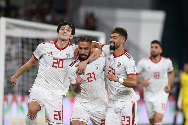 تمجید صفحه توییتر جام ملت های آسیا از تیم ملی ایران