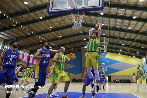 قهرمانی آبادان در لیگ برتر بسکتبال رنگی تمام ایرانی داشت
