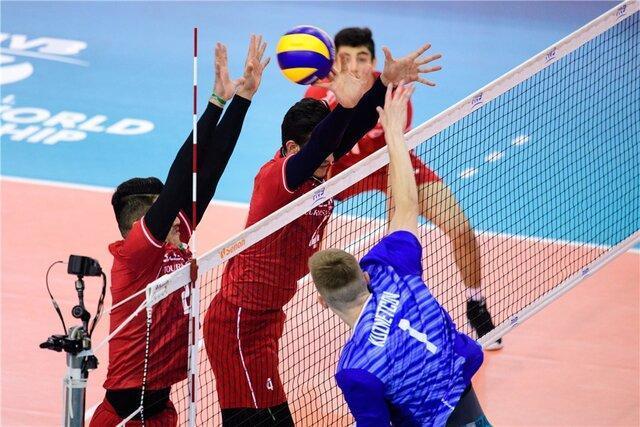آمار بازی جوانان والیبال ایران و روسیه، اشتباهات فردی عامل باخت شاگردان عطایی