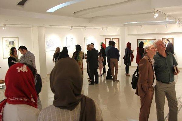 نمایشگاه نقاشی های آبرنگ در گالری شکوه افتتاح شد