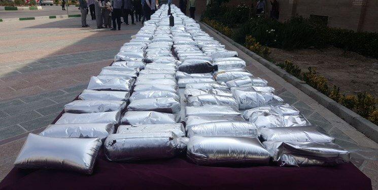 کشف 800 تن مواد مخدر از سوی ایران در سال 97