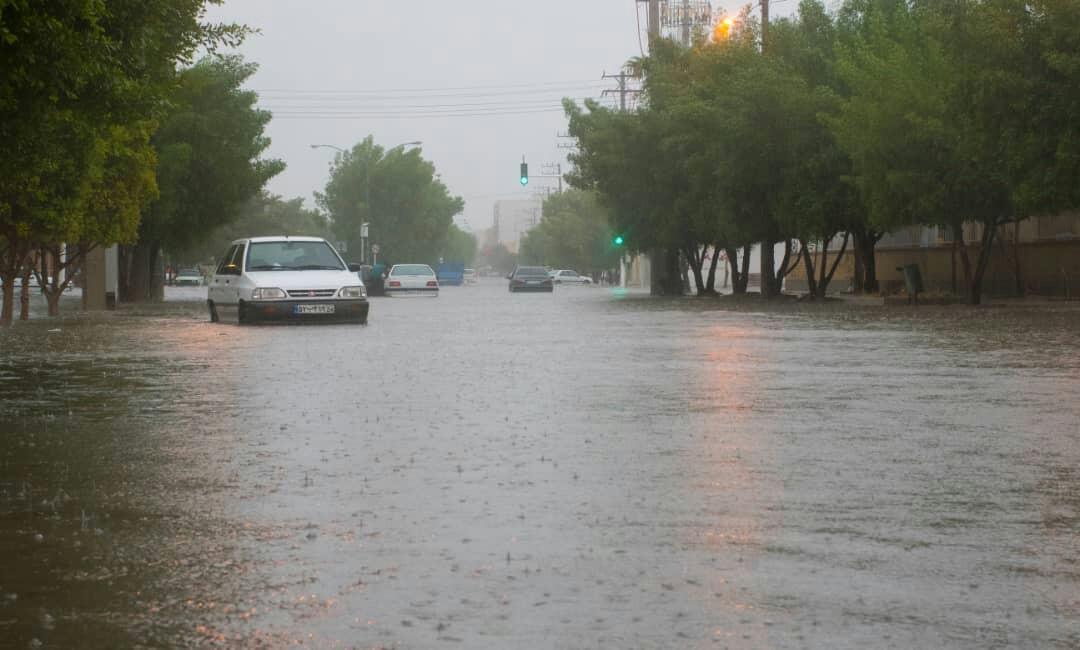 کجا بیشترین بارندگی را داشته است؟