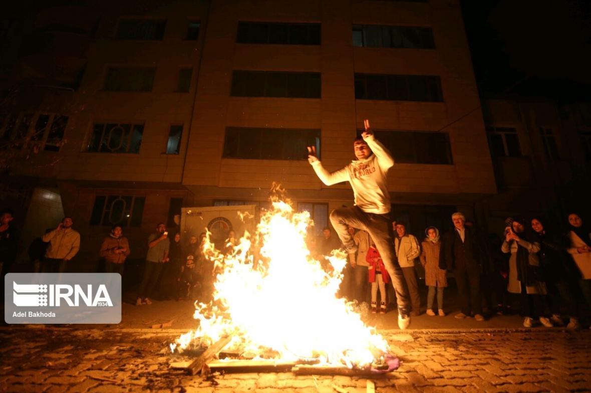 خبرنگاران فوت 2 نفر و مصدومیت 603 نفر در حوادث چهارشنبه سوری امسال