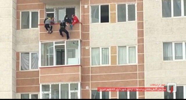 جلوگیری از اقدام به خودکشی زنی در شهرک مرزداران تبریز