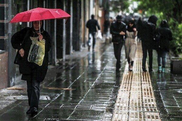 بارش باران در بعضی نقاط خوزستان