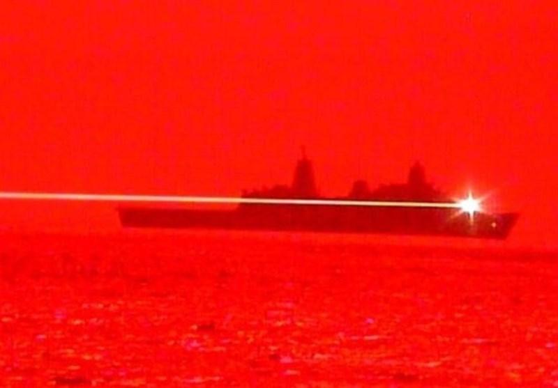 آمریکا سلاح لیزری آزمایش کرد