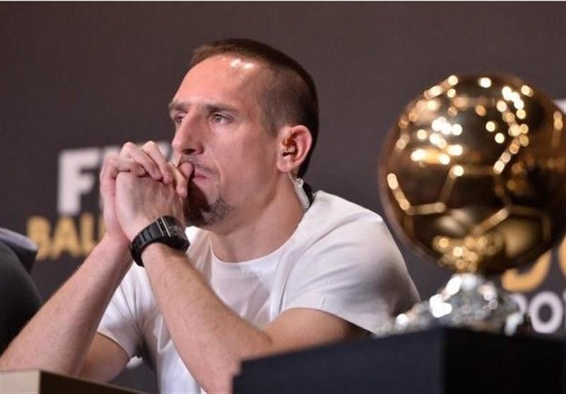 ریبری: دیگر باید چه کار می کردم که برنده توپ طلا شوم؟!