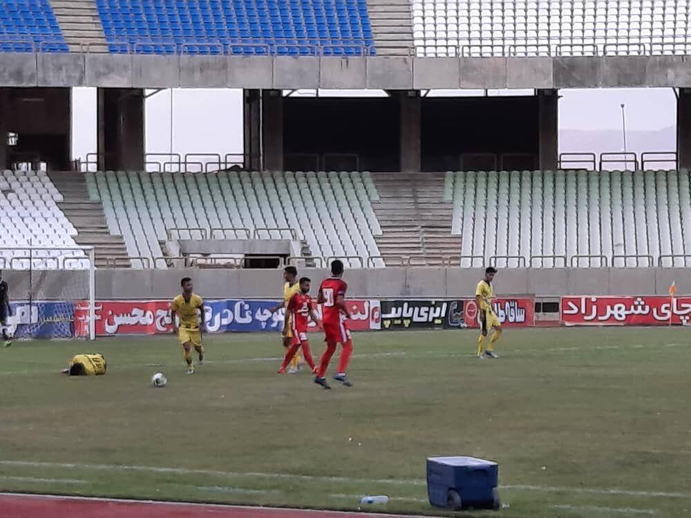 خبرنگاران فجر سپاسی شیراز بدون بازیکنان کرونایی مقابل نود ارومیه شکست خورد