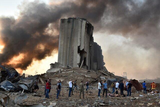 صلیب سرخ لبنان: صدها زخمی در پی انفجارهای بیروت راهی بیمارستان شده اند