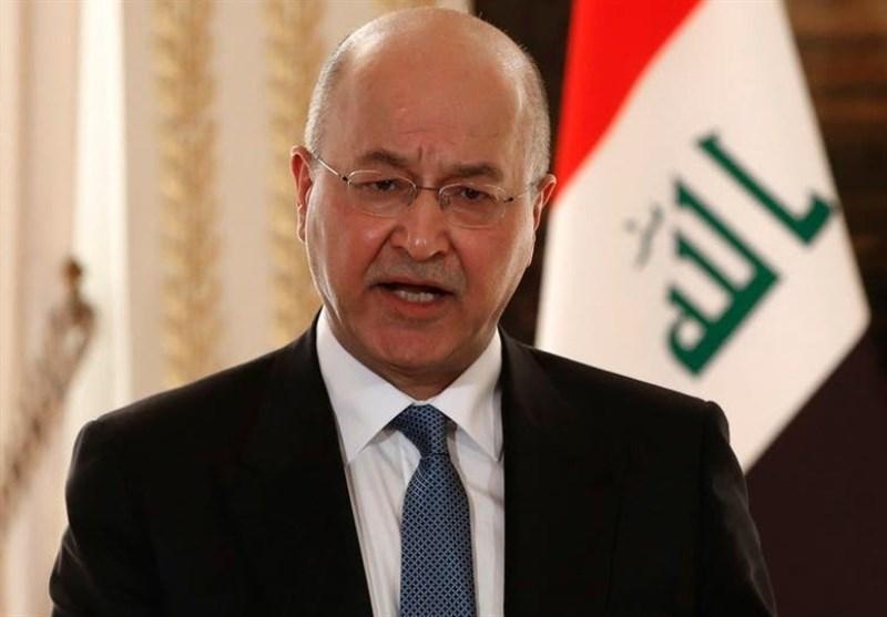 عراق، برهم صالح قانون انتخابات را تایید کرد