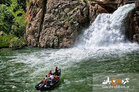 آبشار بل؛ طبیعت زیبای کردستان، عکس