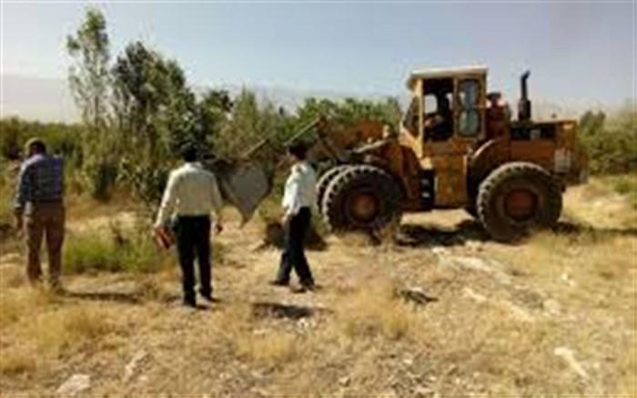 114 هکتار اراضی دولتی در آبان سال جاری برطرف تصرف شد