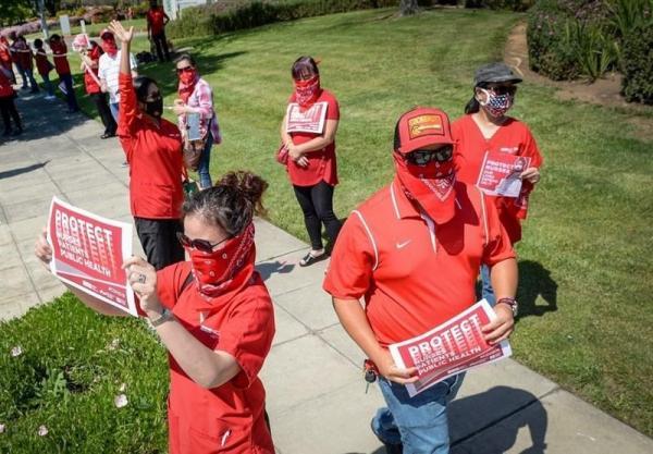 تهدید 2500 پرستار آمریکایی برای اعتصاب