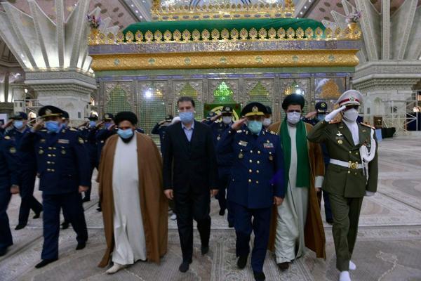 تجدید میثاق کارکنان نیروی هوایی ارتش با آرمان های امام(ره)