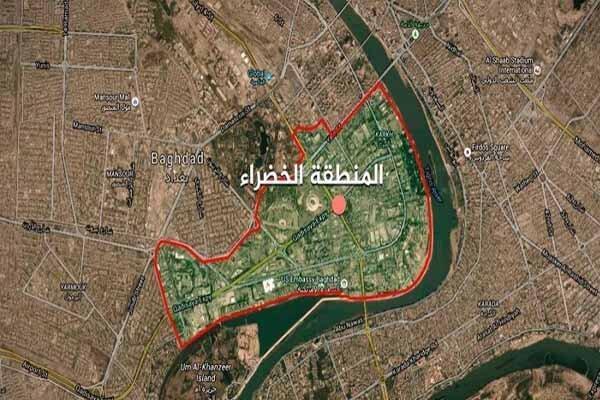 شلیک راکت به سفارت آمریکا در بغداد