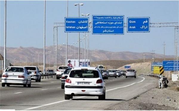 کاهش 4 درصدی تردد جاده ای؛ 10 محور مواصلاتی مسدود است